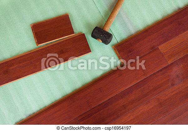 Fußboden Aus Bambus ~ Fussboden wesen planken hölzern layed hartholz bambus. brauner