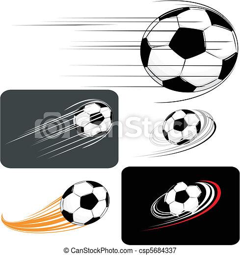futball, clipart - csp5684337
