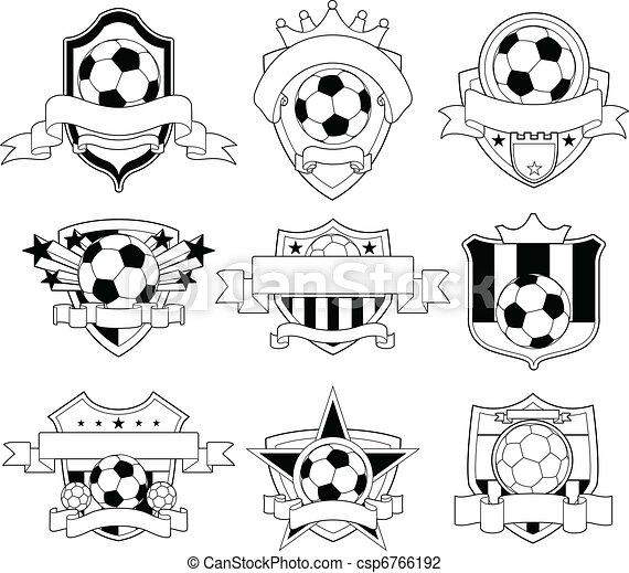 futball, embléma - csp6766192