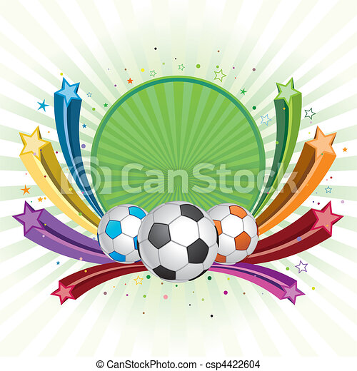 futball, háttér - csp4422604
