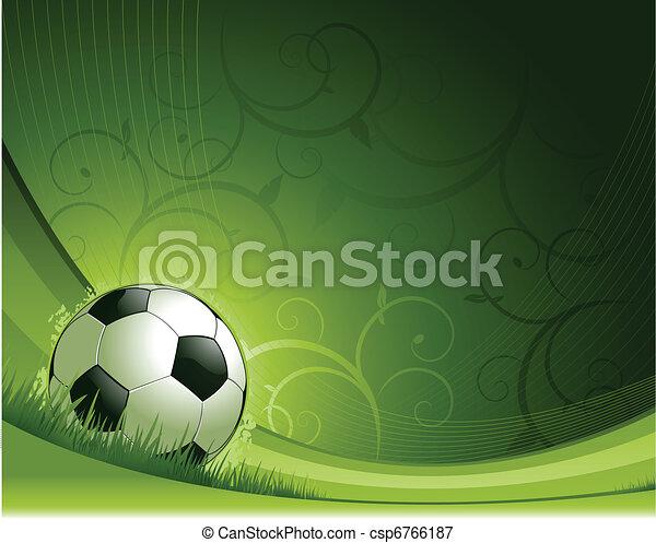 futball, háttér - csp6766187