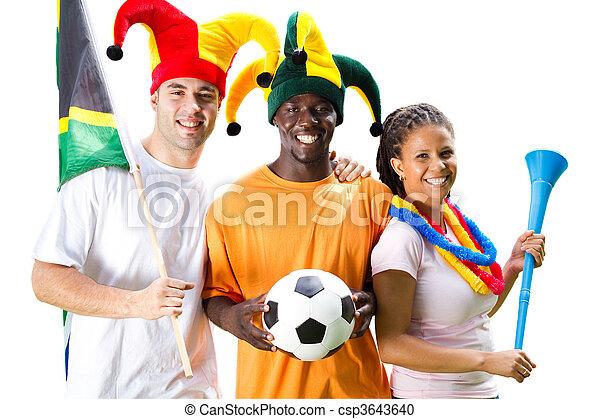 futball, rajongó - csp3643640