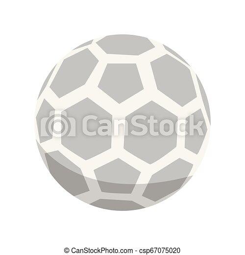 Ícono de fútbol aislado - csp67075020