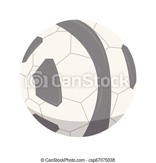 Ícono de fútbol aislado - csp67075038