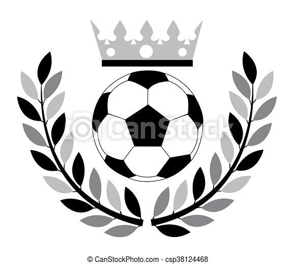 Bola de fútbol. - csp38124468