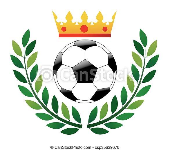 Bola de fútbol. - csp35639678