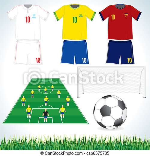 Fútbol listo - csp6575735