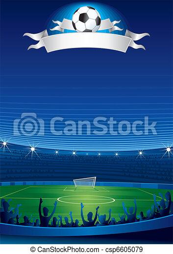 Un estadio de fútbol - csp6605079