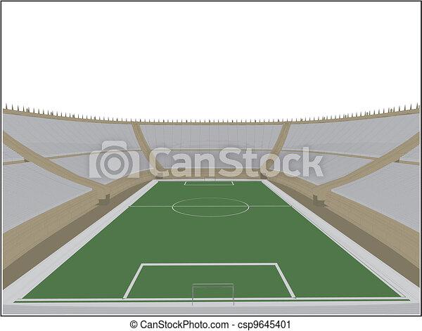 El estadio de fútbol - csp9645401