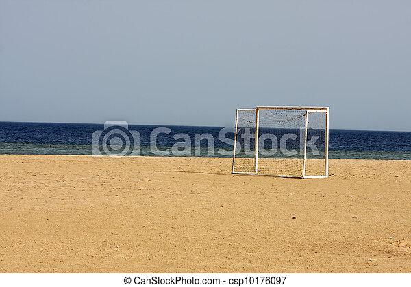 futebol, praia - csp10176097