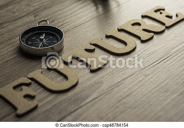 Future compass concept - csp48784154