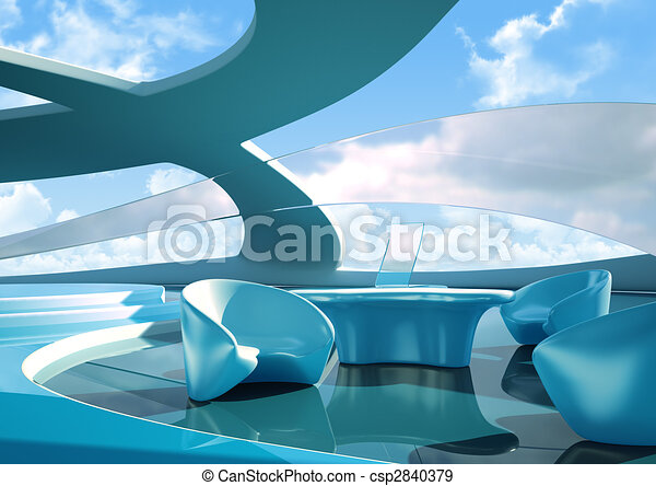 Future interior - csp2840379