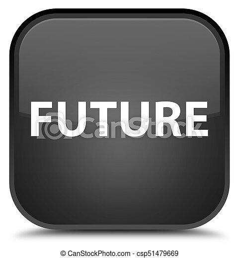 Future special black square button - csp51479669