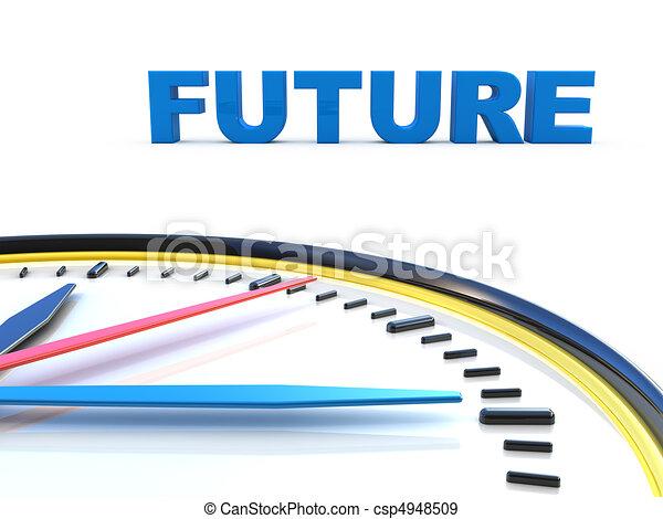 Future time  - csp4948509