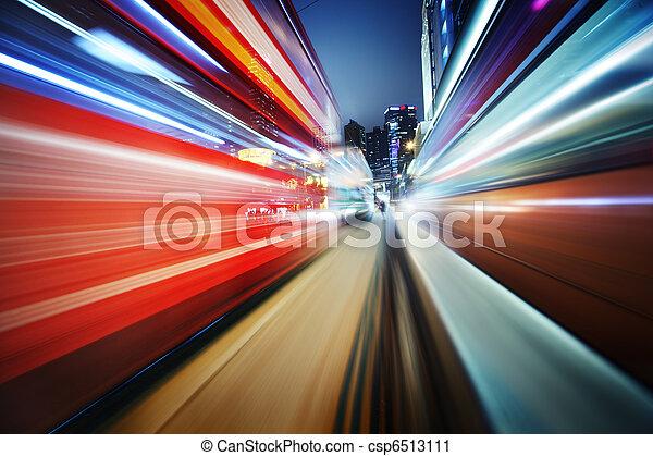 Futuristic blur background - csp6513111