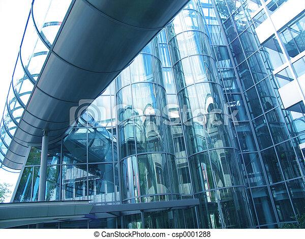 Futuristic building - csp0001288