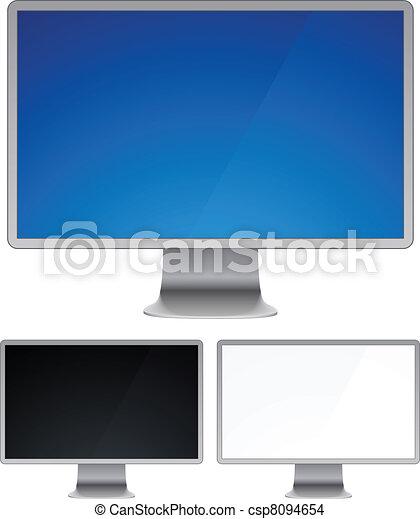 Futuristic display. - csp8094654