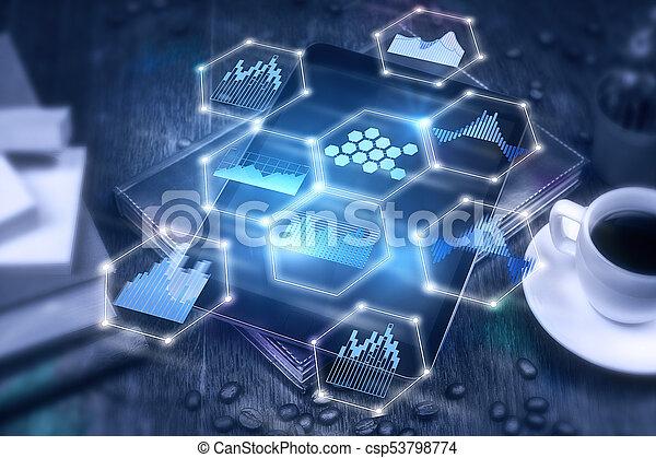 Futuristic innovation concept - csp53798774