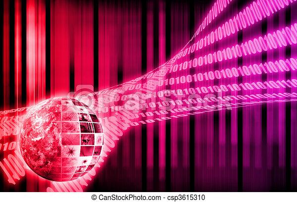 Futuristic Network - csp3615310