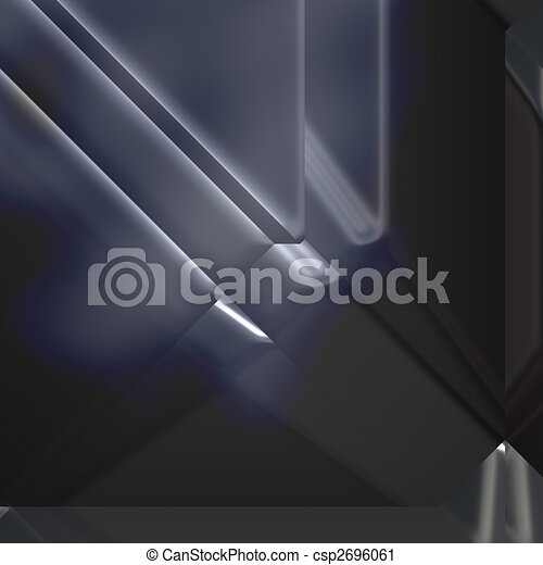 Futuristic technology abstract - csp2696061