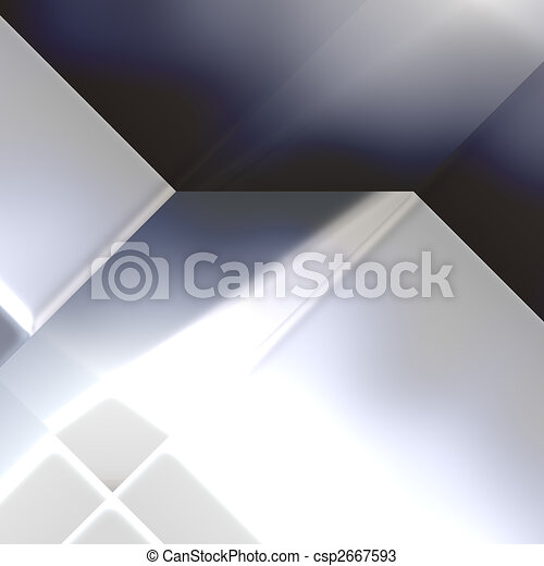 Futuristic technology abstract - csp2667593