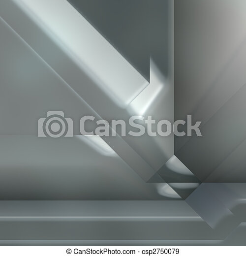 Futuristic technology abstract - csp2750079