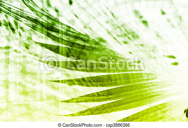 Futuristic Technology Abstract - csp3886366