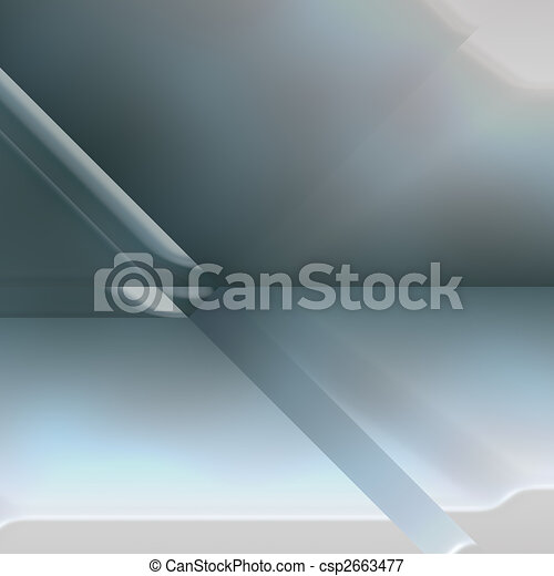 Futuristic technology abstract - csp2663477