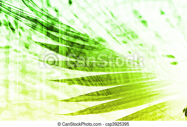 Futuristic Technology Abstract - csp3925395