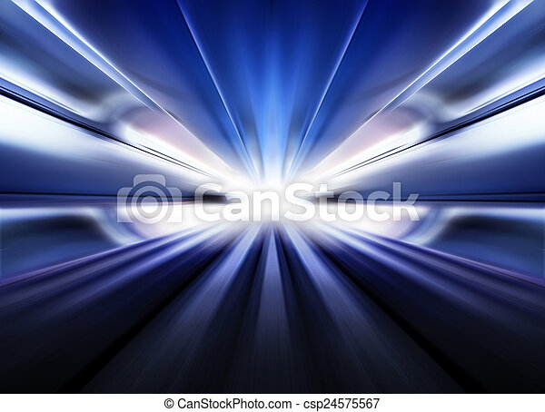futuristico, autostrada - csp24575567