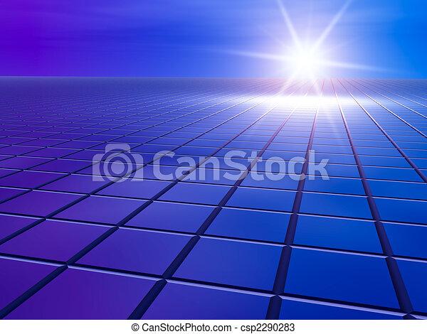 futuro, griglia, affari - csp2290283
