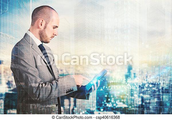 futuro, tecnologia - csp40616368