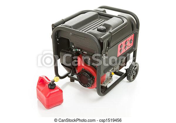 gás, emergência, gerador, lata - csp1519456