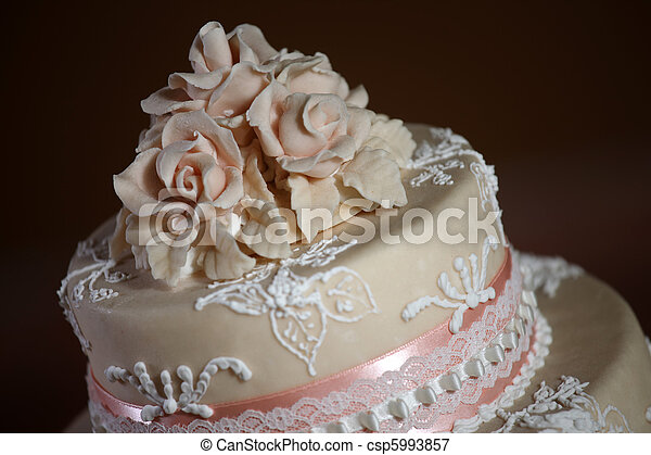 Gâteau Luxe Mariage