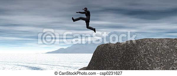 géant, saut - csp0231627