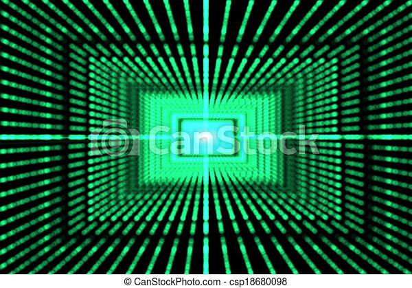 généré digitalement, laser, fond - csp18680098