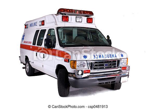 gépel, 2, furgon, mentőautó - csp0481913