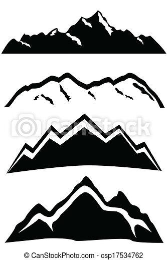 górskie daszki, krajobraz - csp17534762