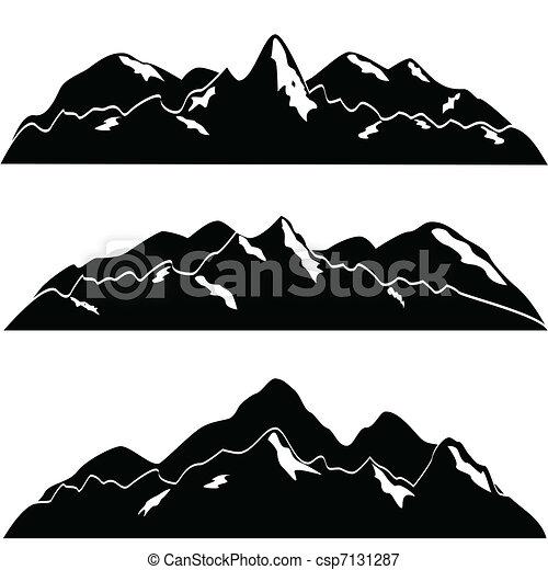 góry, śnieg - csp7131287
