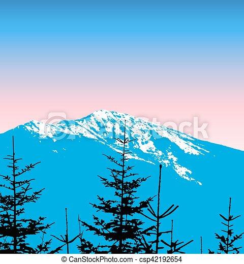 góry, śnieg - csp42192654