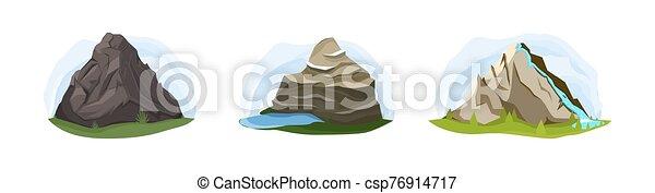 góry, komplet, natura - csp76914717