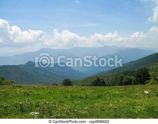 góry, wielki, dymny - csp4896652