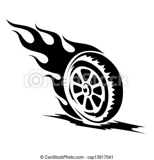 gördít, tetovál, jottányi, fekete, égető - csp13917041