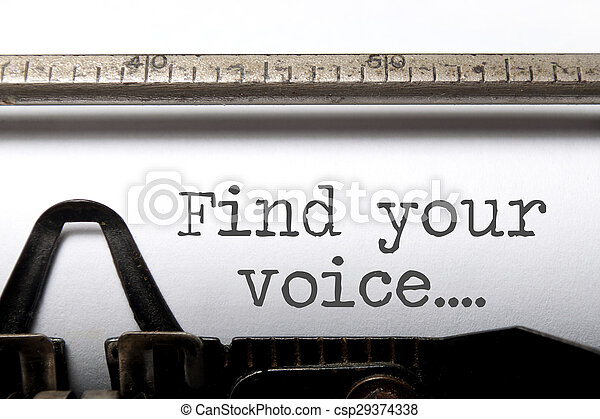 głos, twój, znaleźć, natchnienie - csp29374338