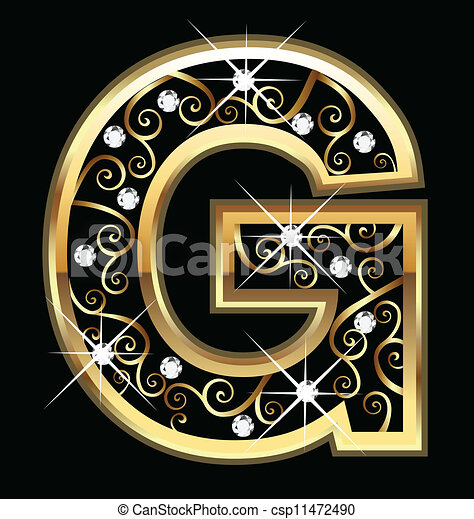 Letter G Bling Vector Clip Art Illustrations 33 Clipart EPS Drawings Available To Search From Thousands Of Royalty Free