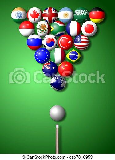 G20 billiard - csp7816953