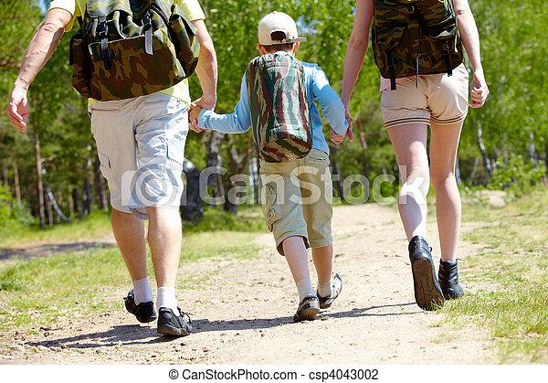 gaan, wandelende - csp4043002