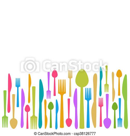 Colorful Kitchen Knives