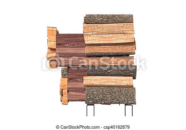 Gabinete, madera, muebles, vista lateral. Gráfico, gabinete ...