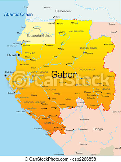 Gabon Illustrations and Clipart Youll Love 2586 Gabon royalty